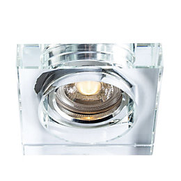 Colours Clear LED Fixed Square Recessed Downlight 4.8