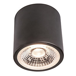 Colours Black LED Fixed Recessed downlight 12 W