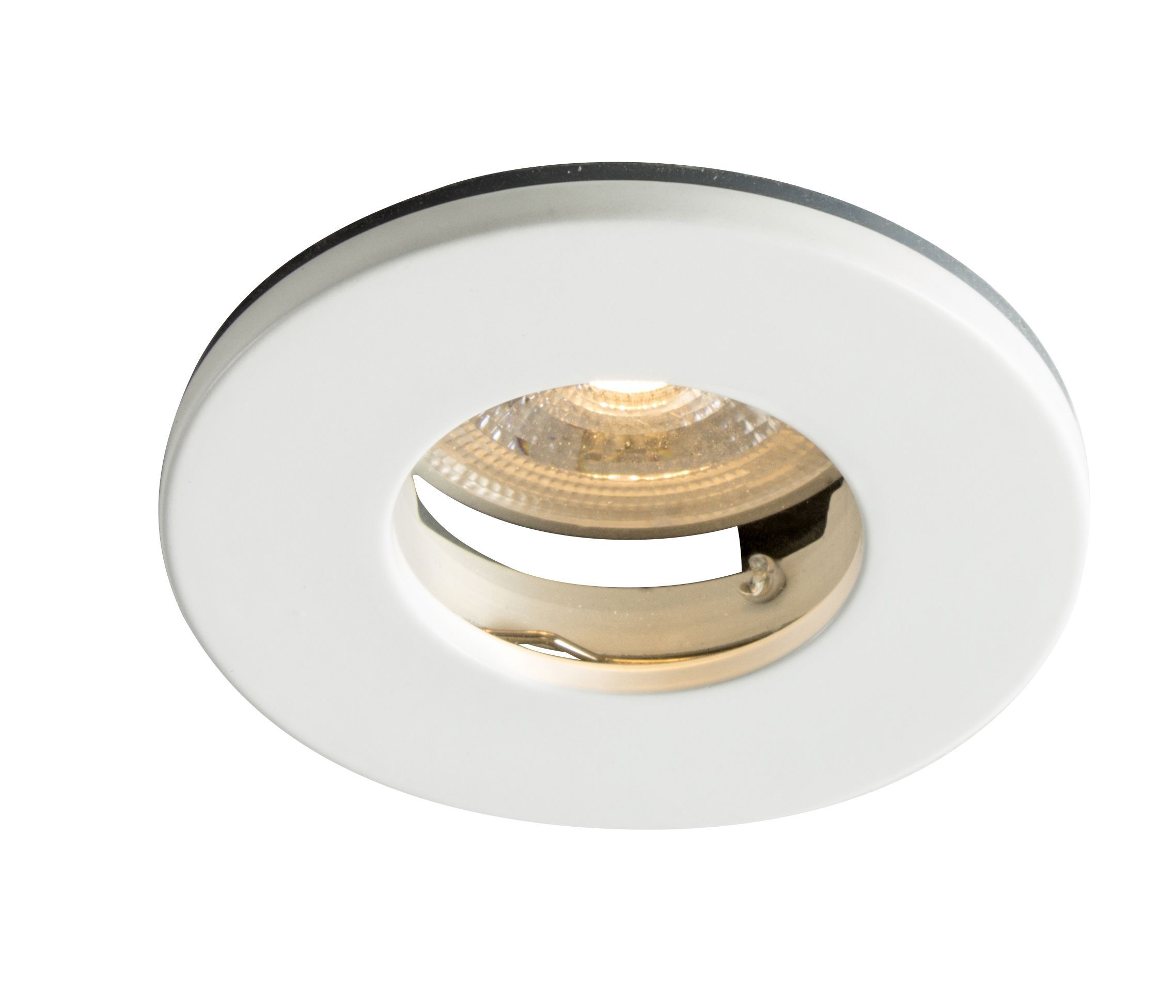 Colours Matt White Non-adjustable LED Downlight 5W IP65 ...