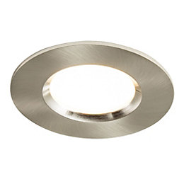 Colours Brushed Chrome LED Adjustable Recessed Downlight 5.5