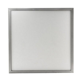 Pictor Square Silver Effect Light Panel