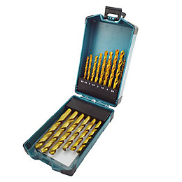 Erbauer 1-13mm Metal Drill Bit Set, 25 Pieces