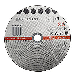 230mm Stone Cutting Disc, Pack of 5