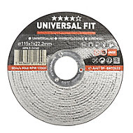 Universal (Dia)115mm Inox/metal cutting disc