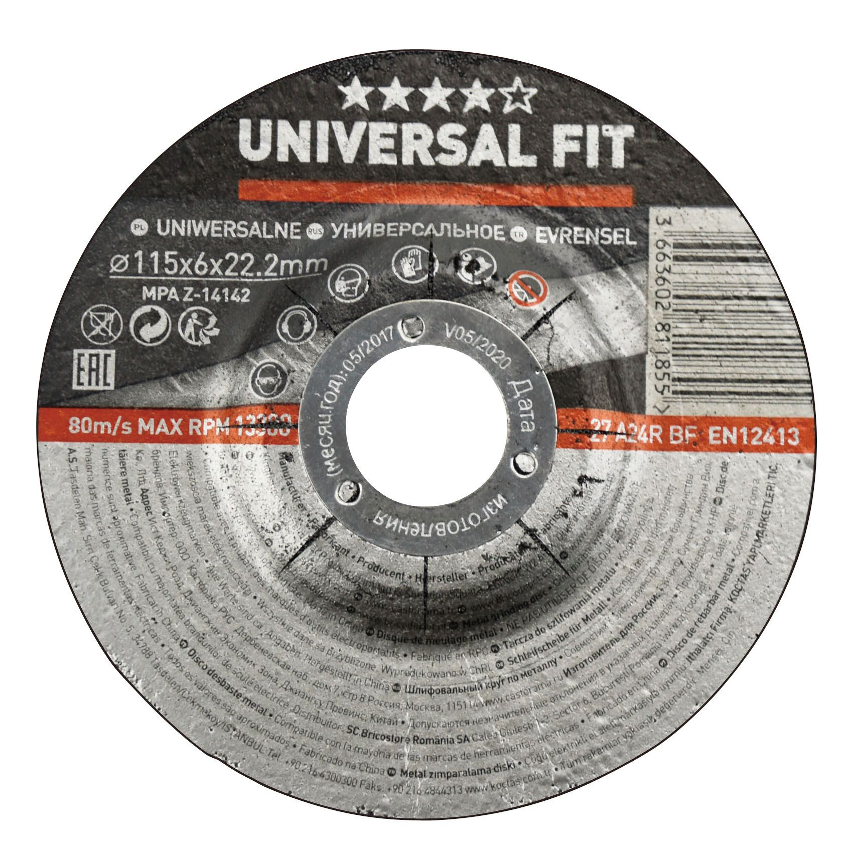 Universal (Dia)115mm Grinding Disc