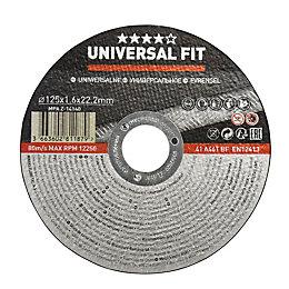 Universal (Dia)125mm Metal cutting disc