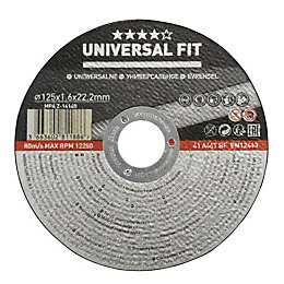 Universal (Dia)125mm Cutting disc