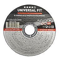 Universal (Dia)125mm Inox/metal cutting disc