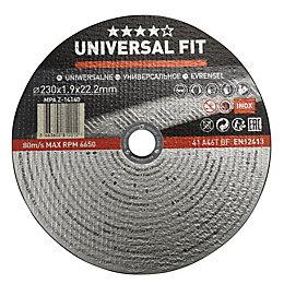 Universal (Dia)230mm Inox/Metal Cutting Disc