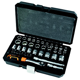 "Magnusson 3/8"" Standard Socket Set, 40 pieces"