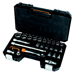 "Magnusson 1/2"" Socket Set, 25 pieces"