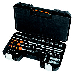 "Magnusson 1/4"" & 3/8"" Mixed Socket Set, 67"