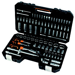 "Magnusson 1/4"" & 1/2"" Mixed Socket Set, 94"