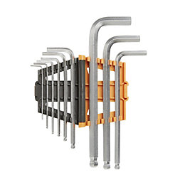 Magnusson Ball headed hex key, Set of 9