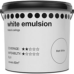 White Matt Emulsion paint 5L