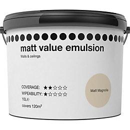 Magnolia Matt Emulsion Paint 10L