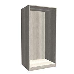 Darwin Modular Grey & Oak Effect Large Cabinet