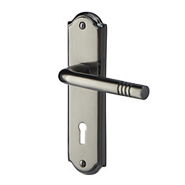 Meldon Satin Iridium effect Internal Straight Lock Door