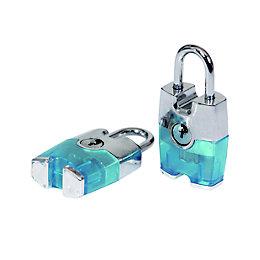 Smith & Locke Aluminium Cylinder Steel open shackle