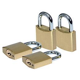 Smith & Locke Brass Combination Steel open shackle
