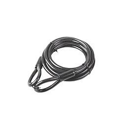 Smith & Locke Black Braided steel wire Security