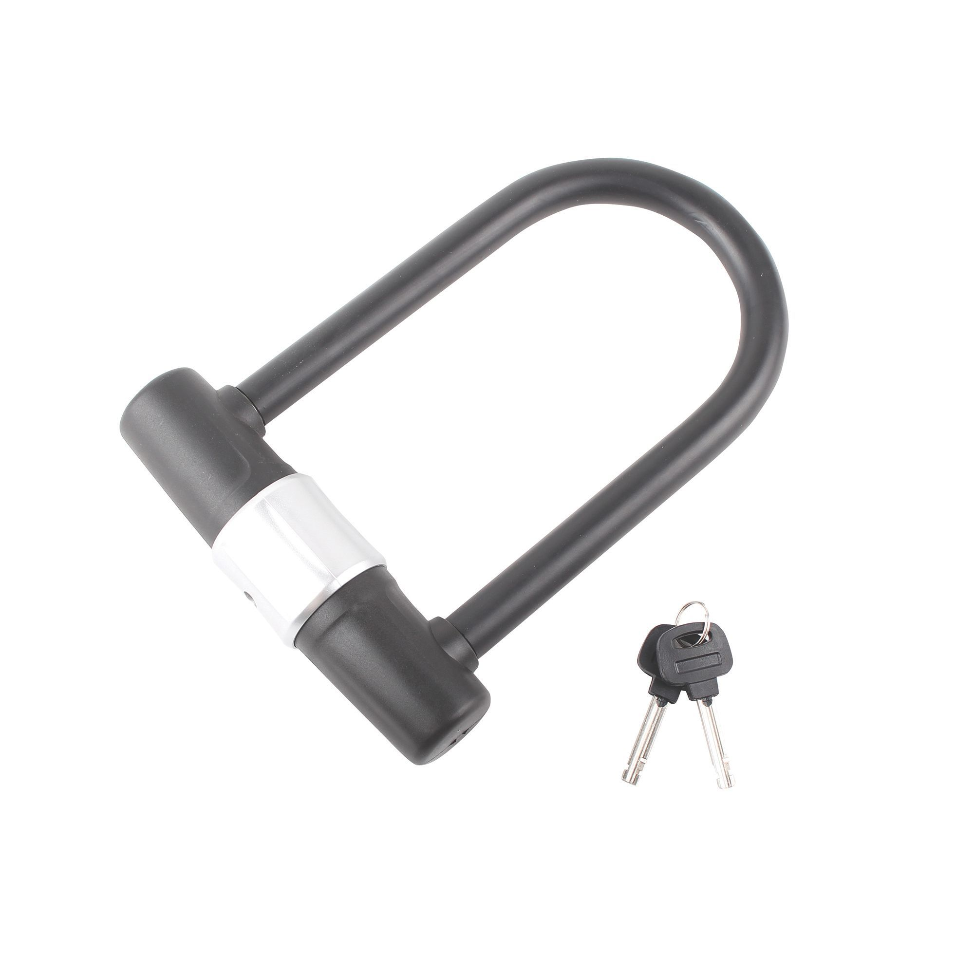 Smith & Locke Black Steel Cylinder D-shackle (W)75mm