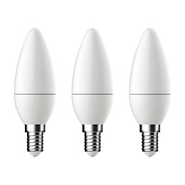 Diall E14 250lm LED Candle Light bulb, Pack