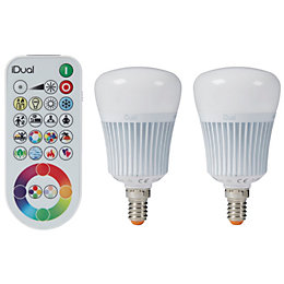 Idual E14 470lm LED Dimmable Candle Light Bulb,