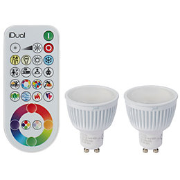 Idual GU10 345lm LED Dimmable Reflector Light Bulb,