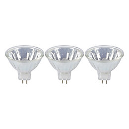 Diall GU5.3 Halogen Dimmable Reflector Light bulb, Pack