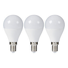 Diall E14 806lm LED Round Light Bulb, Pack