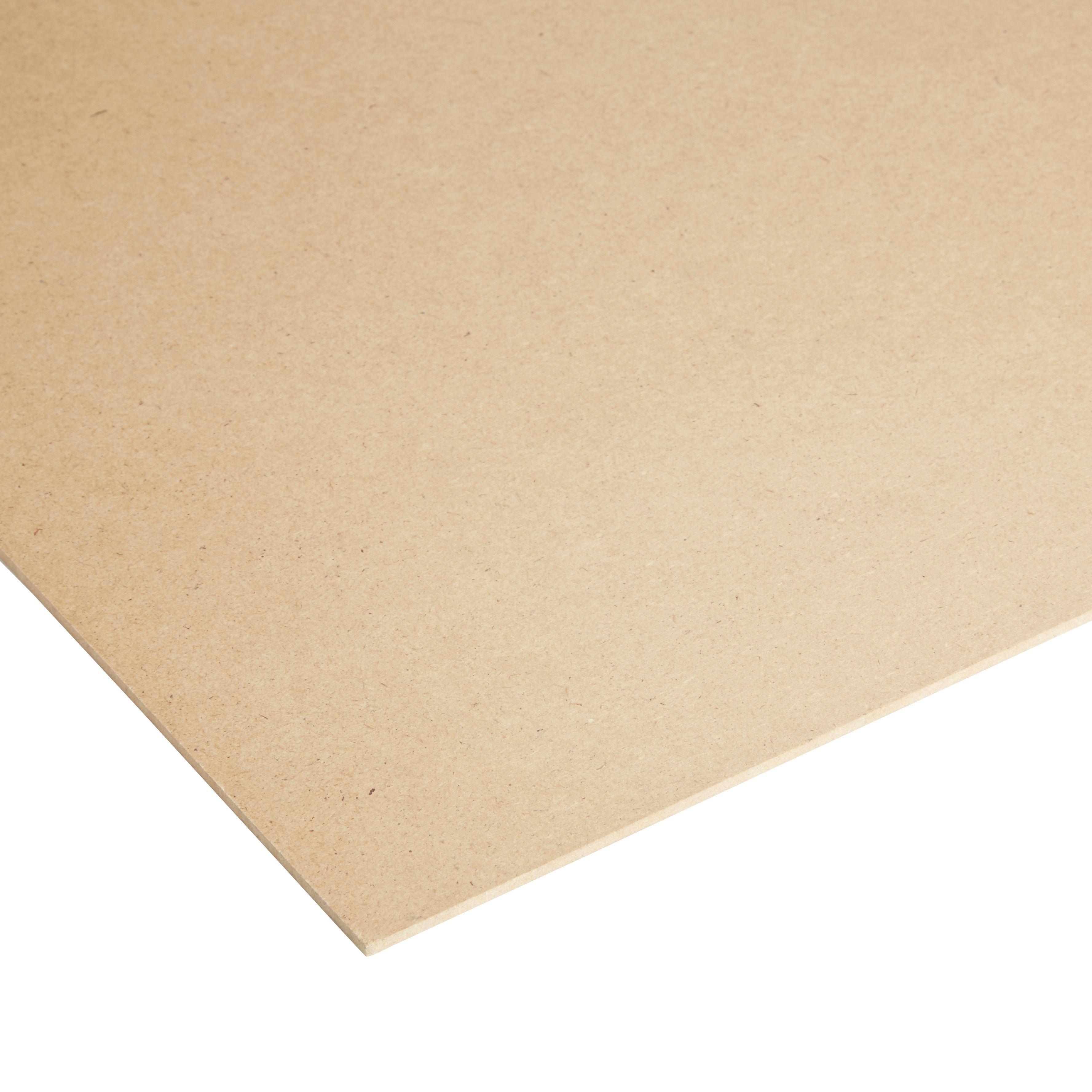 High density fibreboard sheet th mm w l