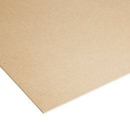High density fibreboard Sheet (Th)3mm (W)1220mm (L)2440mm