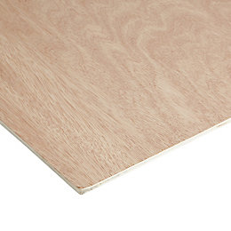 Hardwood Plywood Sheet (Th)5mm (W)1220mm (L)2440mm