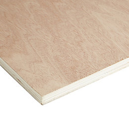 Hardwood Plywood Sheet (Th)18mm (W)610mm (L)1830mm