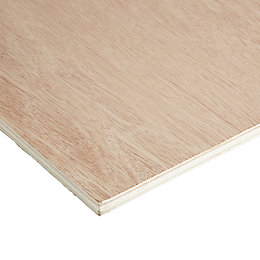 Hardwood Plywood Sheet (Th)12mm (W)405mm (L)810mm