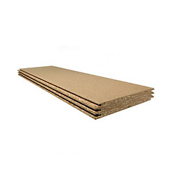 Chipboard Loft panel Pack of 3, (L)1220mm (W)325mm
