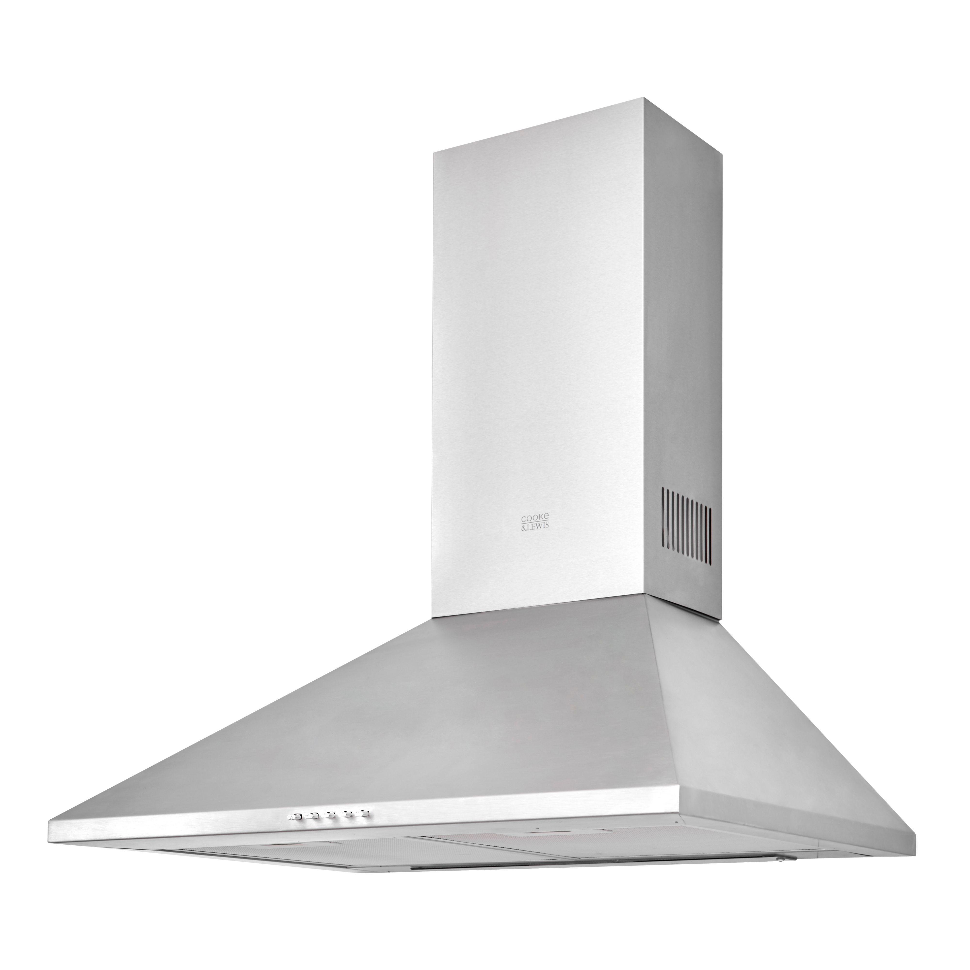 cooke lewis clchs60 inox stainless steel chimney cooker. Black Bedroom Furniture Sets. Home Design Ideas