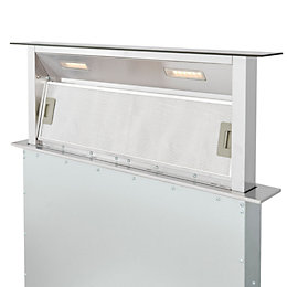 Cooke & Lewis CLDHB90 Steel & glass Downdraft