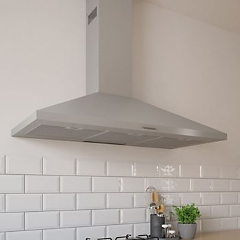 Cooke & Lewis Stainless Steel Chimney Hood