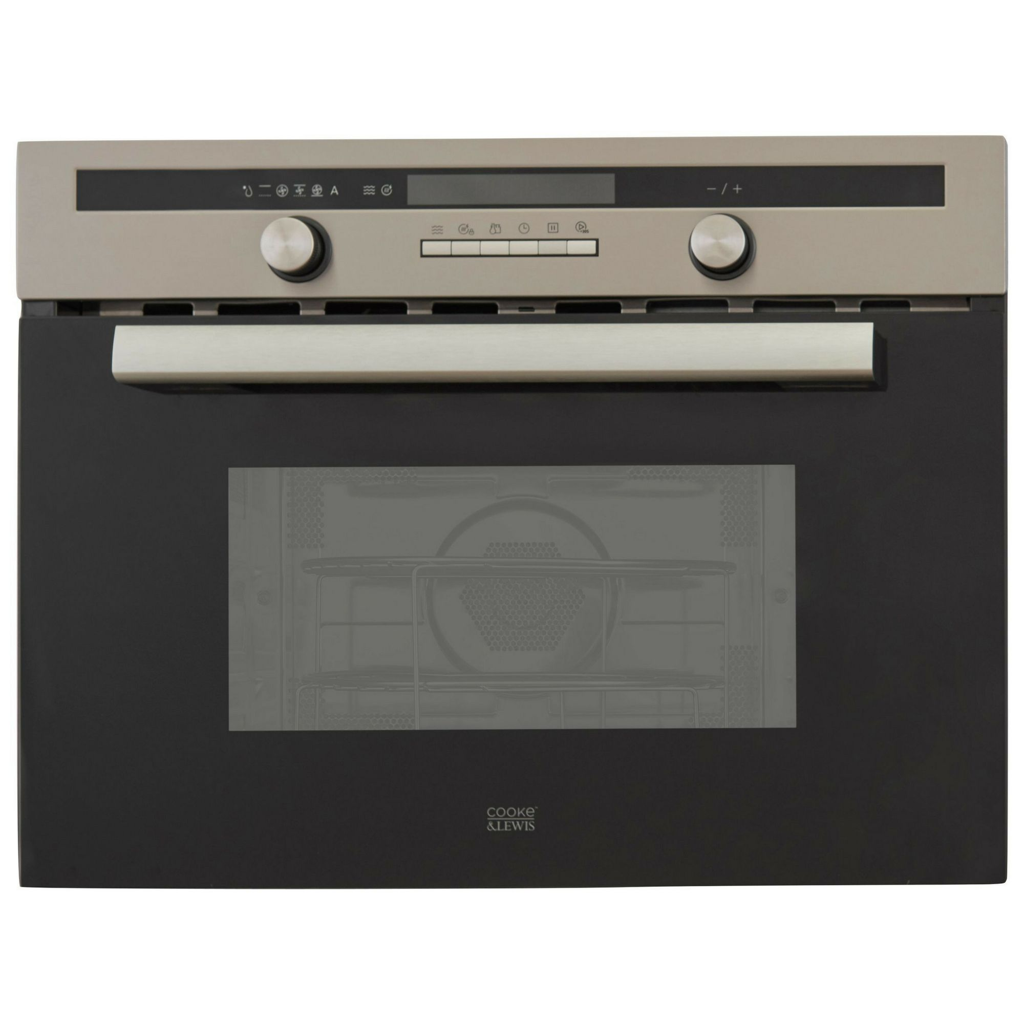 Cooke Lewis Clpyst Stainless Steel Single Pyrolytic Oven
