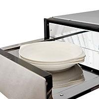 Cooke & Lewis WRMDRW60 Grey Electric Warming drawer