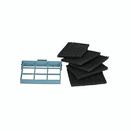 Cooke & Lewis CARBFILT7 Black Carbon filter (W)59.9mm