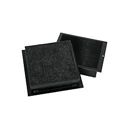 Cooke & Lewis CARBFILT9 Black Carbon filter (W)118.5mm