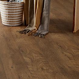 Bunbury Natural Oak Effect Laminate Flooring Sample
