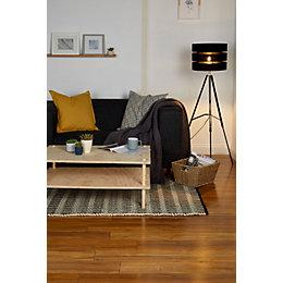 Bannerton Natural Oak effect Laminate flooring sample 2.058