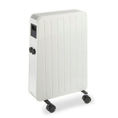 blyss 1500w portable oil free radiator departments diy. Black Bedroom Furniture Sets. Home Design Ideas