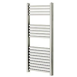 Blyss Pentworth Chrome Flat Bar Ladder Towel Radiator
