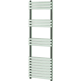 Blyss Emsworth Chrome Designer Towel Warmer (H)1700mm (W)500mm