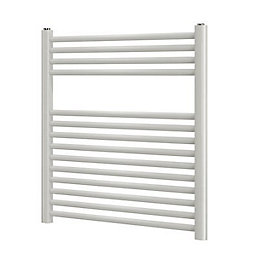 Blyss White Flat Laddertowel Radiator (H)700mm (W)600mm
